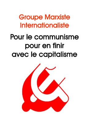 Cahier révolution communiste 1