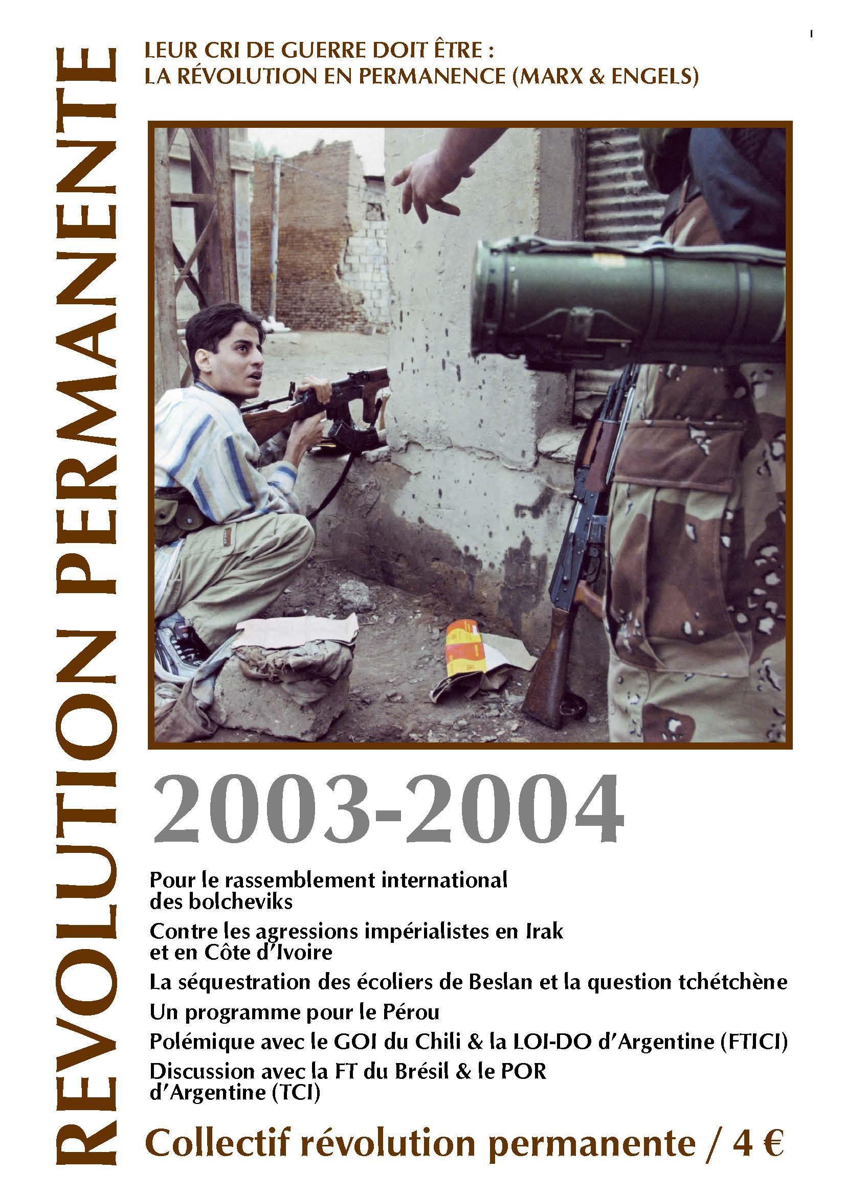 Révolution permanente 1