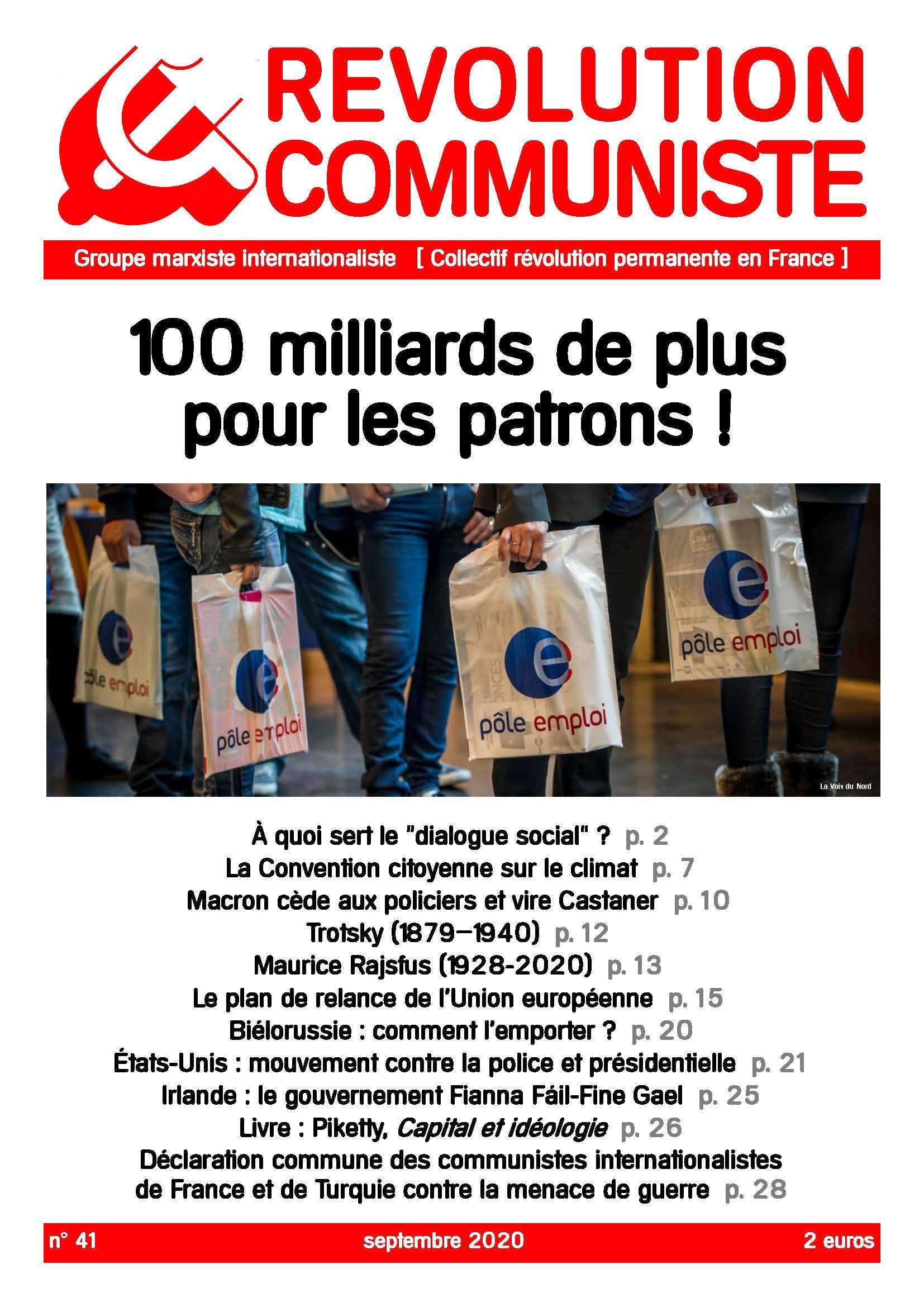 couverture Révolution communiste 41