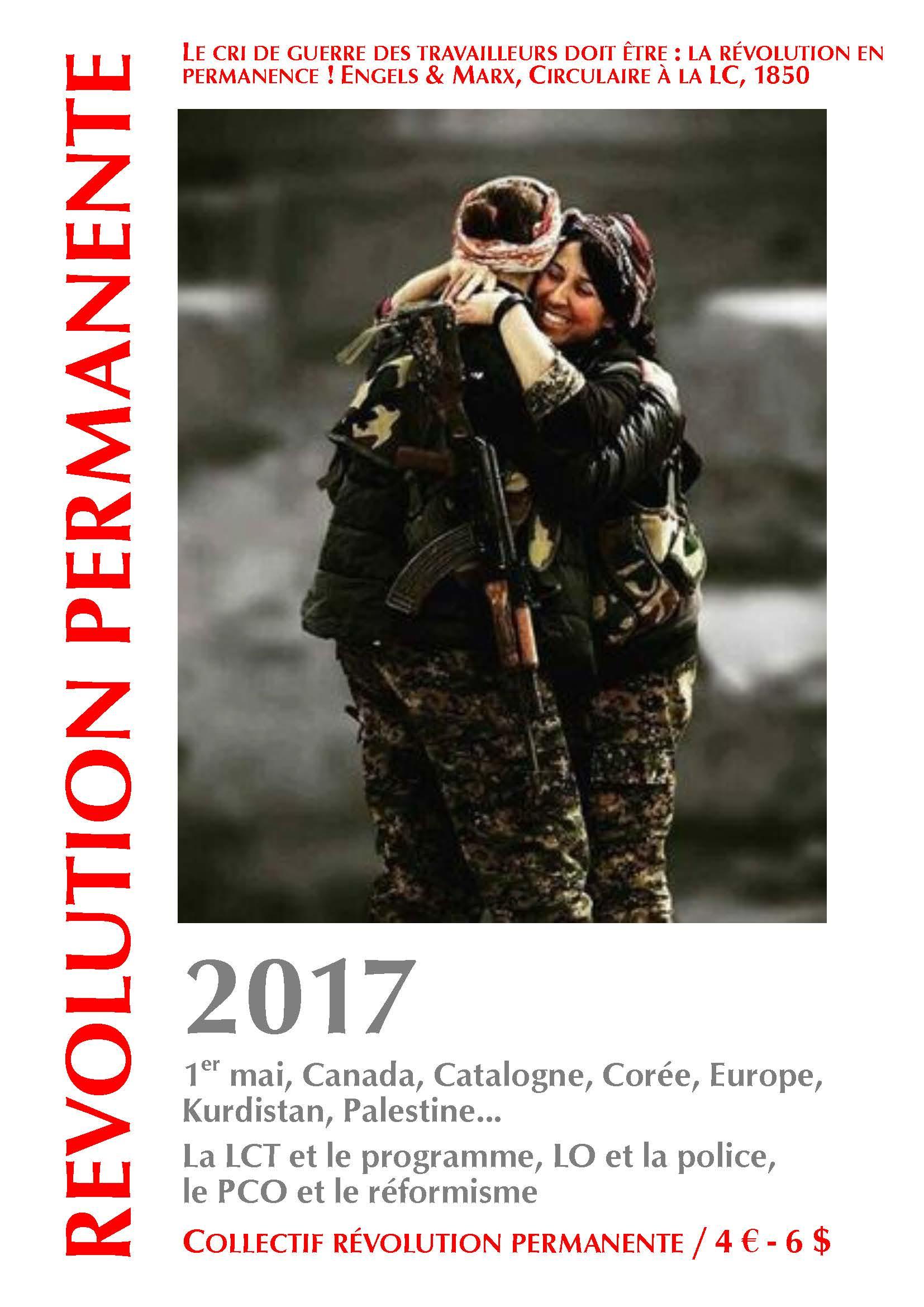 couverture Révolution permanente 2017