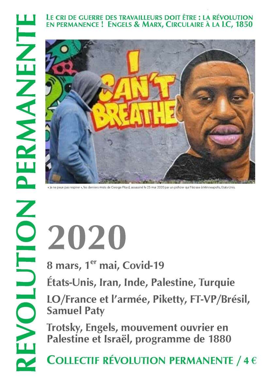 couverture Révolution permanente 2020