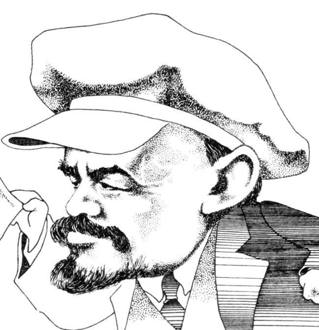 Caricature de Lénine