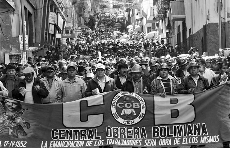 Les « journées de mai » en Bolivie : la classe ouvrière affronte Morales