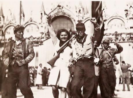 Italie 1943 – 1945La révolution prolétarienne abat le régime fasciste