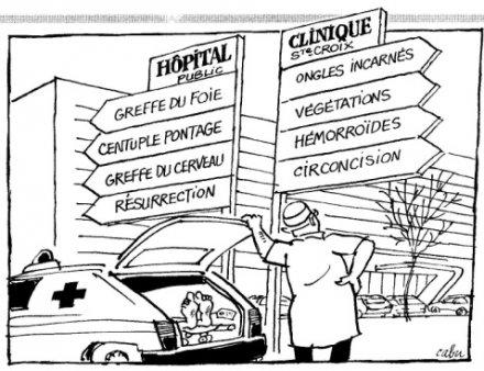 Le gouvernement Hollande-Valls-Touraine veut saigner la santé et les hôpitaux publics