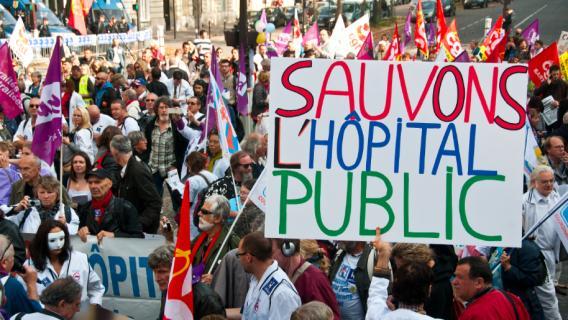 Non au pacte de responsabilité ! À bas le plan Hollande-Valls-Touraine contre les hôpitaux!Retrait du plan santé 2014 !