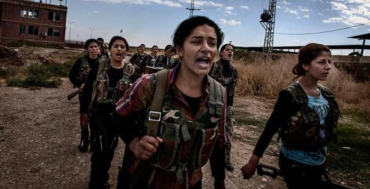 Pour la victoire du peuple kurde sur les islamo-fascistes, ouverture de la frontière turque avec la Syrie!
