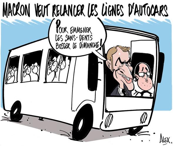 Retrait du projet de loi Macron!