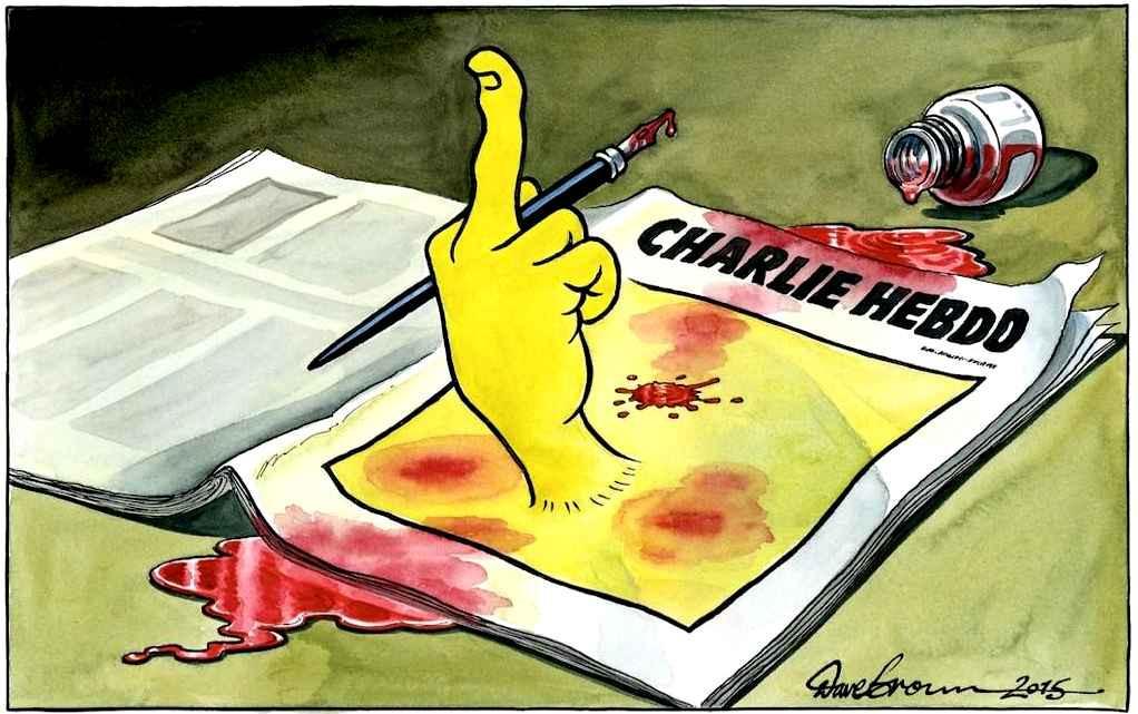 Lettre à l'équipe de Charlie Hebdo