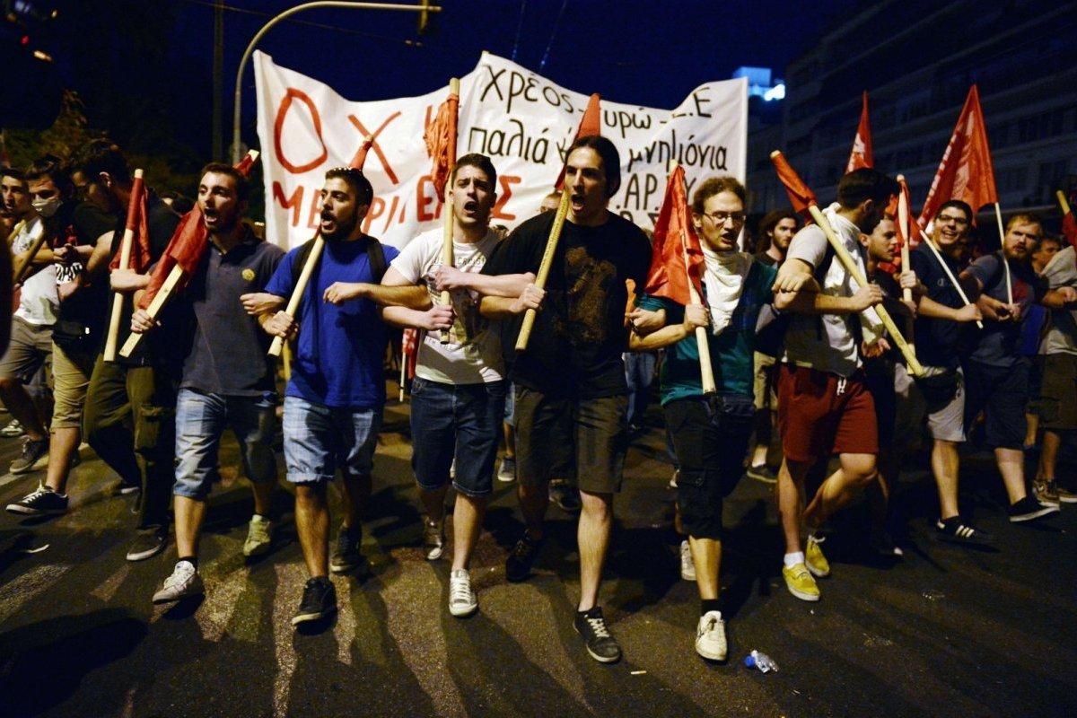 Grèce: socialisme ou fascisme?