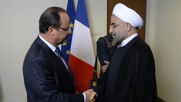À bas le plan impérialiste franco-américain contre l'Iran!