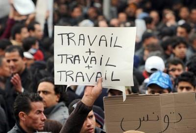 Tunisie : manifestations contre le chômage