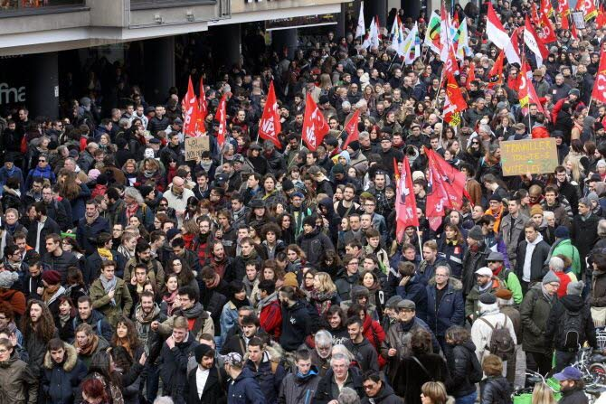 Grève générale jusqu'au retrait !
