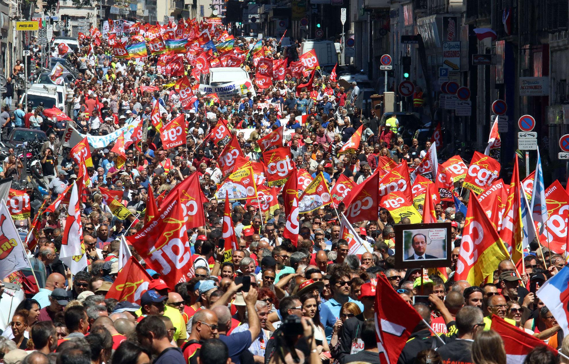Seule la grève générale peut vaincre le gouvernement