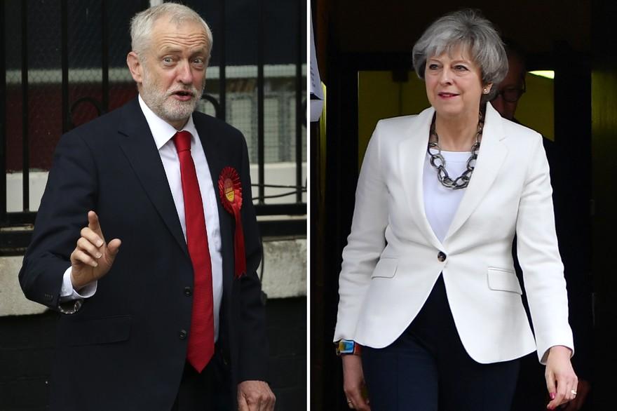 8 juin : la Première ministre de Grande-Bretagne joue et perd