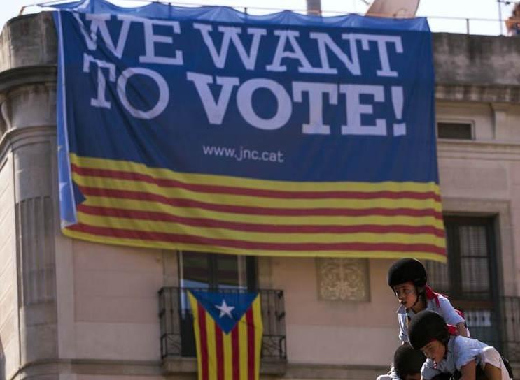 Droit pour la Catalogne de se séparer de l'Espagne (et de la France) !