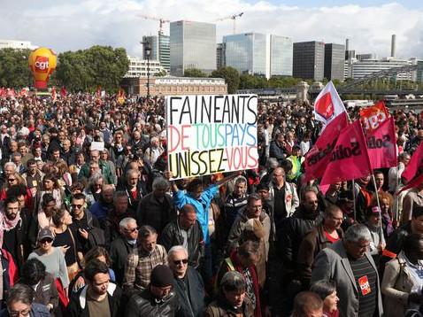 Pour vaincre le gouvernementNi négociations ni journées d'actionPréparer la grève générale