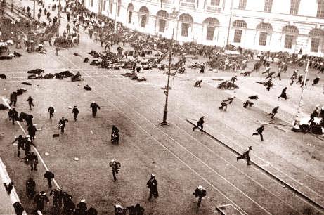 La Révolution russe de juin à septembre 1917