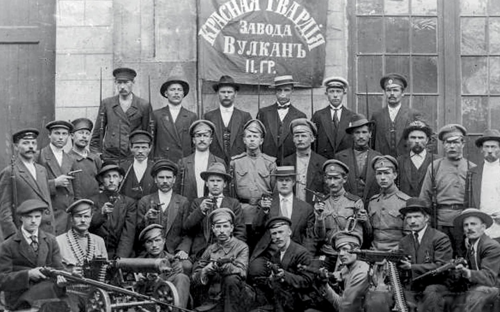La Révolution russe de septembre à novembre 1917