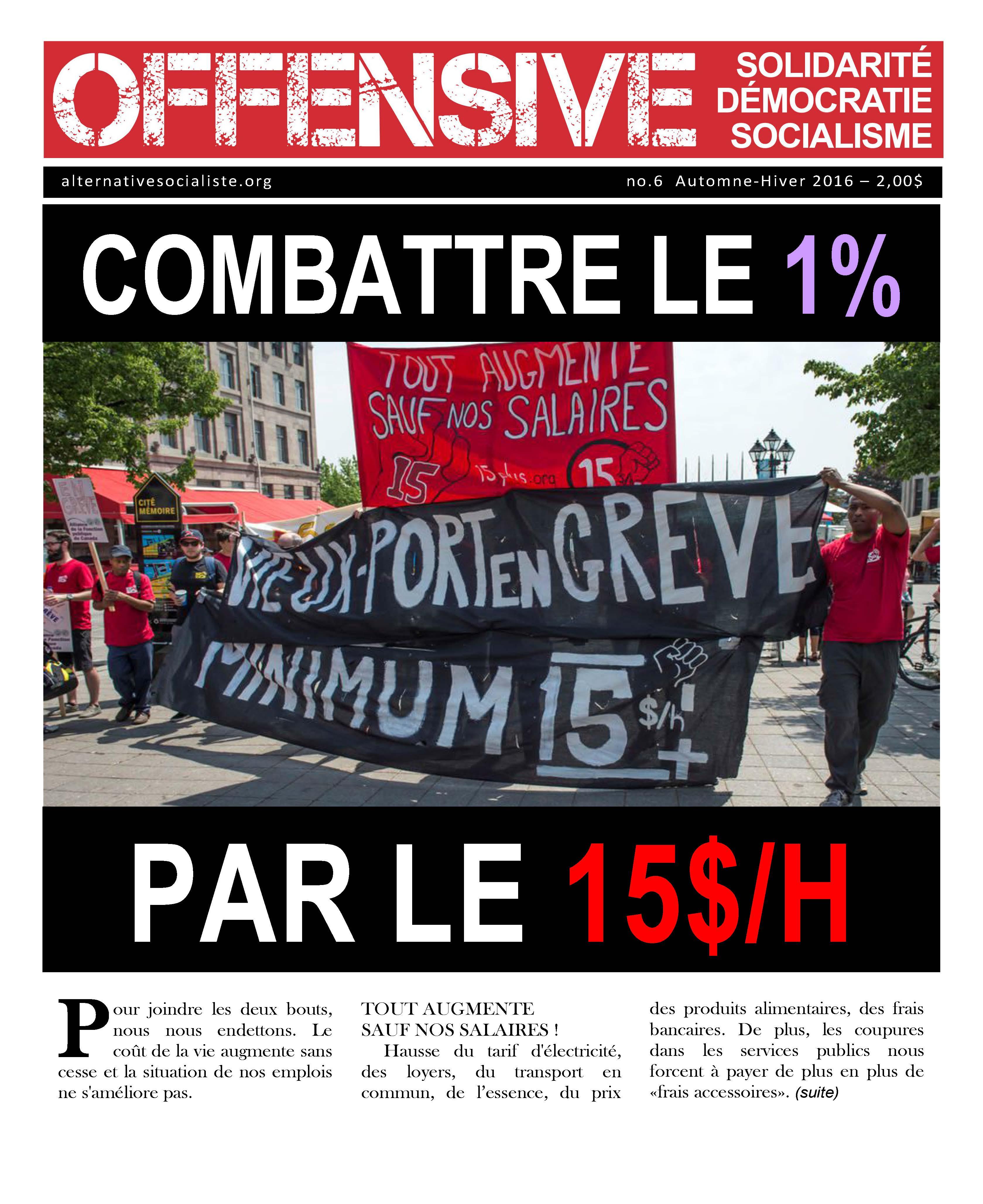 Canada : la politique opportuniste de SA au Québec
