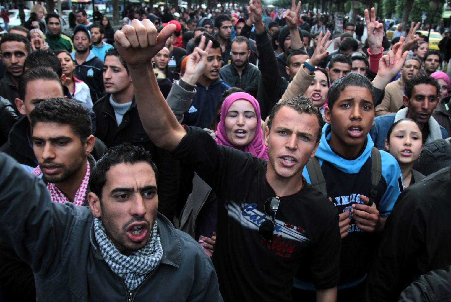 Tunisie : manifestations populaires contre la misère