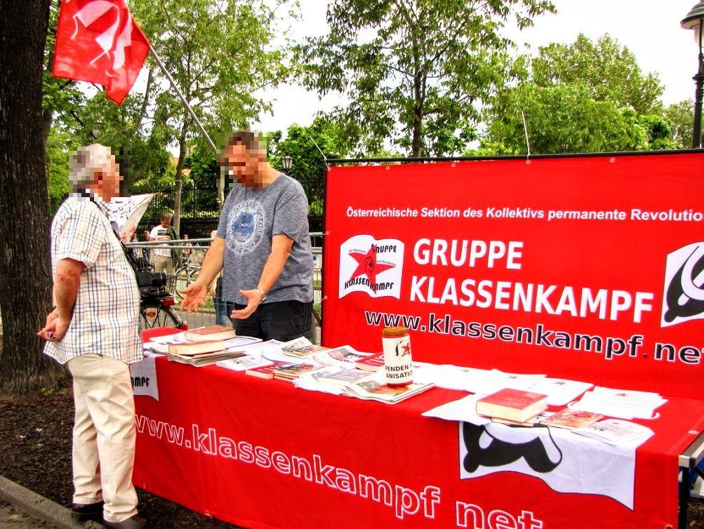 Autriche  Des boucs émissaires au lieu de la lutte des classes ? sans nous !