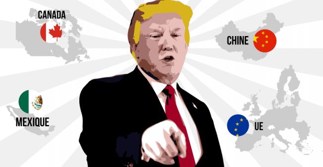 L'impérialisme américain déclare la guerre économique